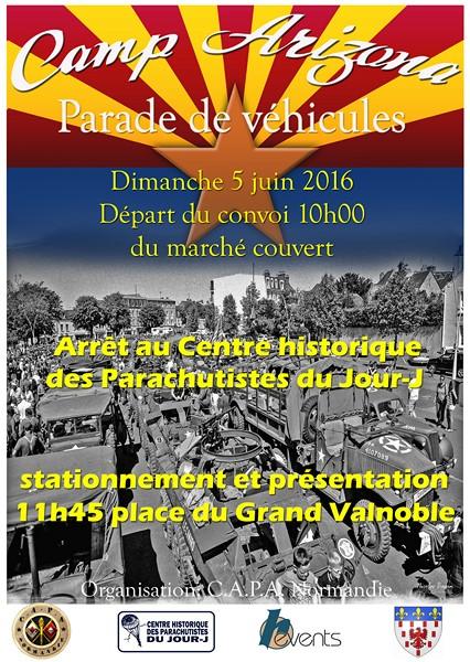 parade vehicules 2016