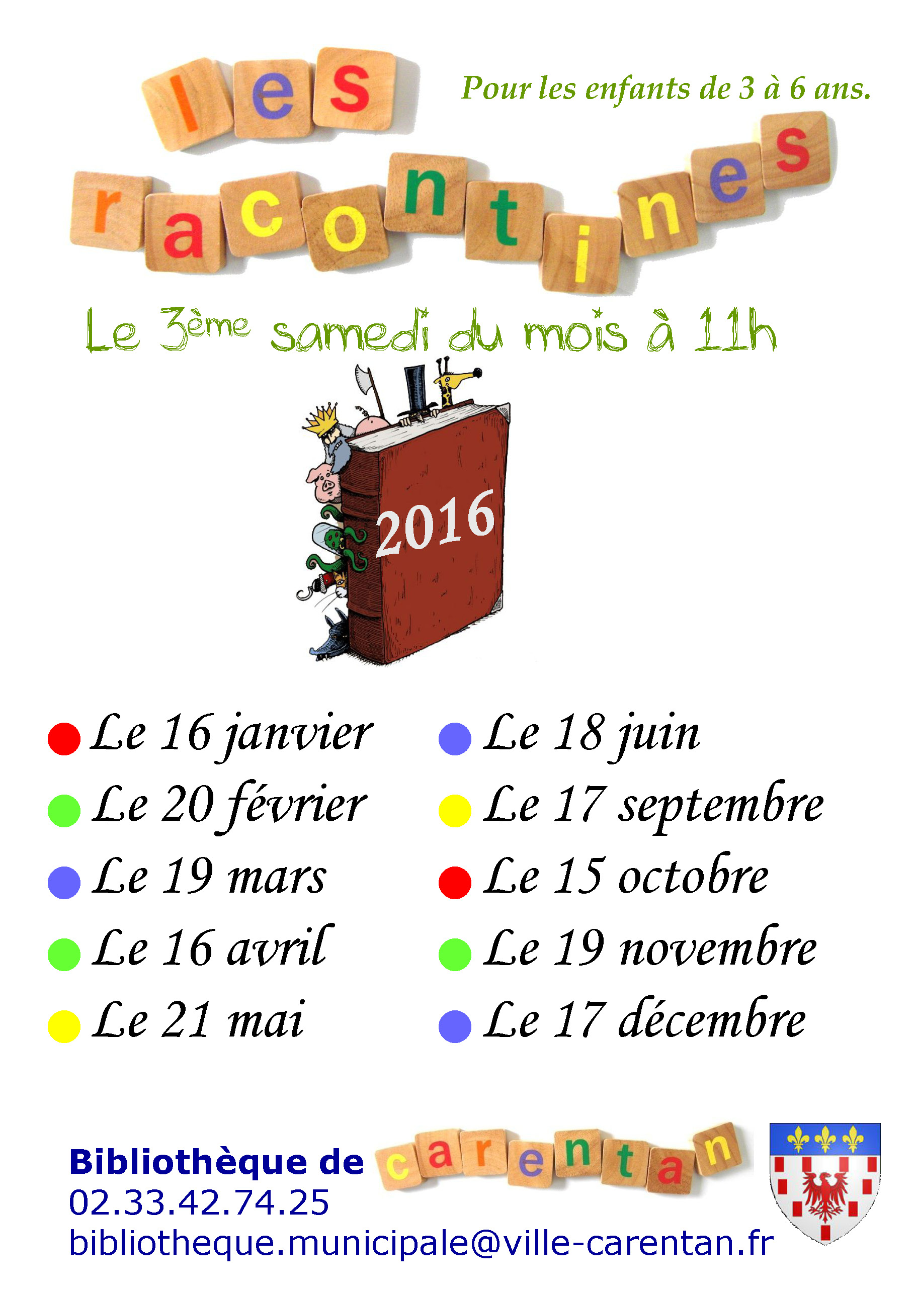affiche annuelle racontines2016