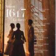 Opéra 16-17 - Affiche
