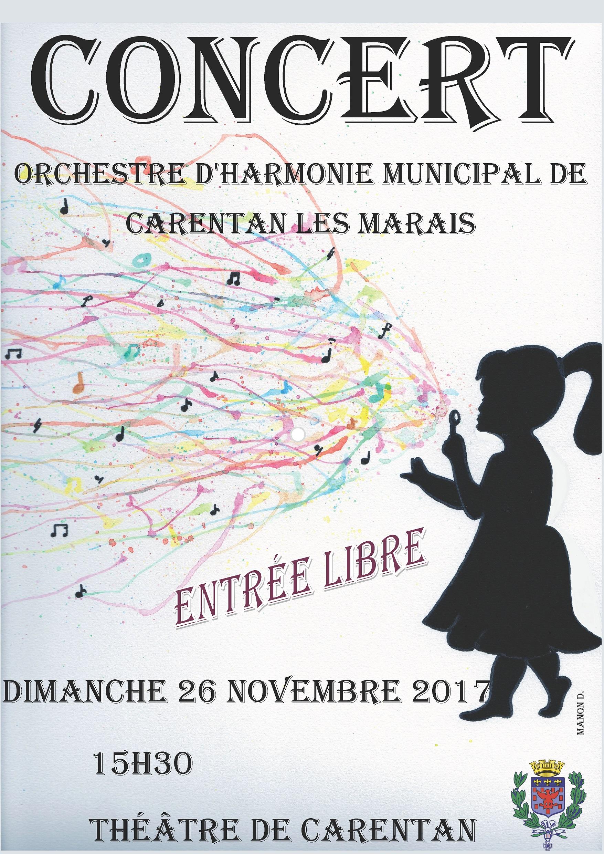 Concert de l 39 harmonie ville de carentan les marais - Halle d entree ...
