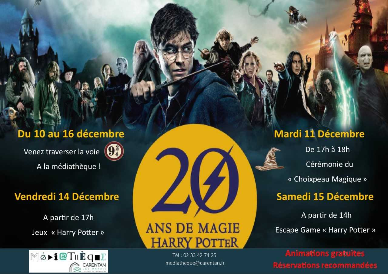 semaine Harry Potter